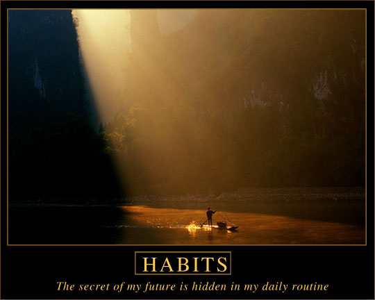 Poster: The  secret of my future is hidden in my daily routine