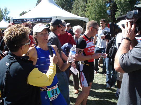 Jamie Whitmore - Sept 2007 Xterra Triathlon Champion