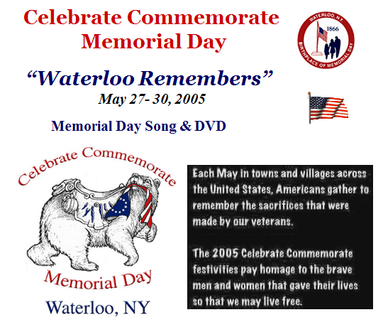 Celebrate Commerorate Memorial Day