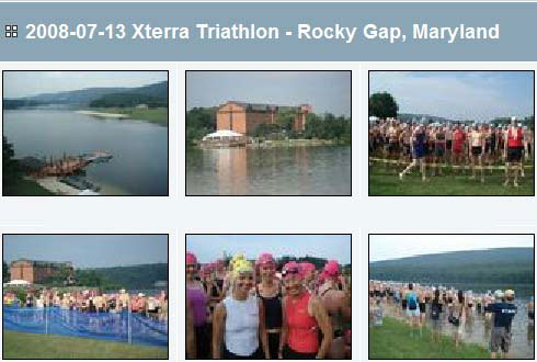 Photos from Xterra triathlon at Rocky Gap, Maryland