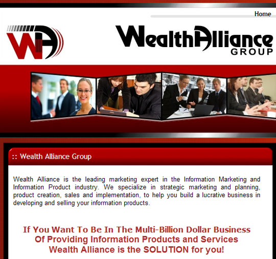 Wealth Alliance Group: leading marketing expert in the Information Marketing and Information Product industry