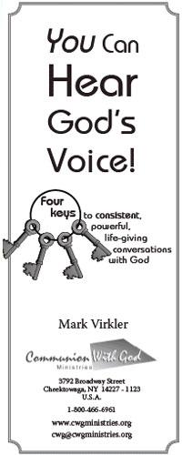 4 keys to hear God's voice