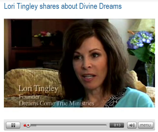 Lori Tingley shares about Divine Dreams