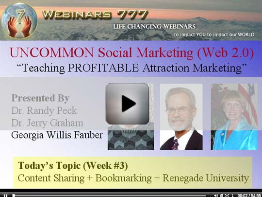 RECORDED WEBINAR: Content Sharing, Bookmarking, and Renegade University