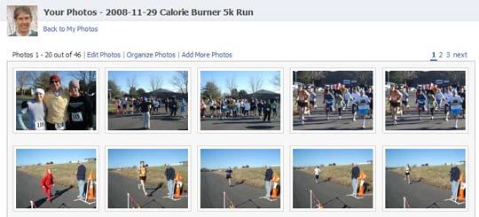 2008 Calorie Burner 5k Run in Culpeper, VA