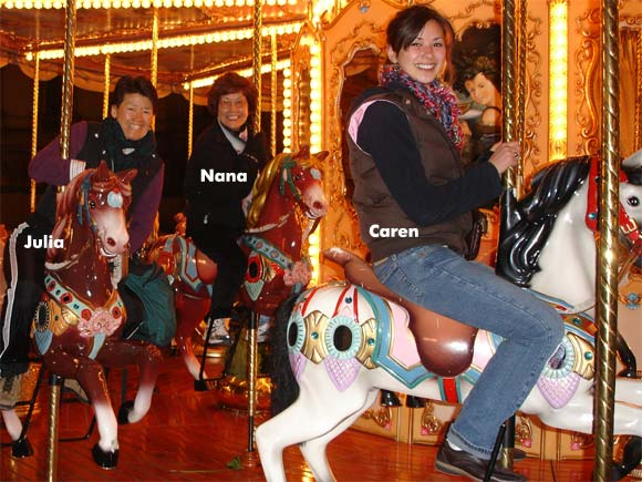 Carousel in Florence Italy