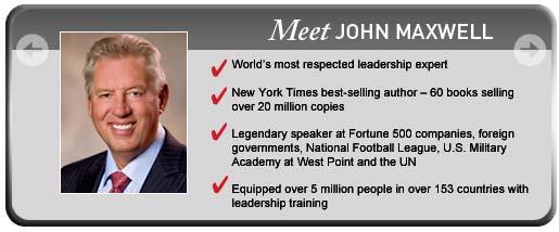 Meet John Maxwell