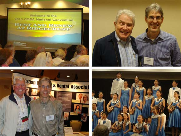 Photo collage from CMDA annual convention in 2013